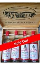 Four Seasons 1990 - London Dry Gin 4 Bottles Box