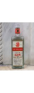 Nicholson London Dry Gin 1970