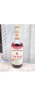 Ten High 1Lt Straight Bourbon Whiskey 1960