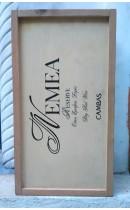 Ξύλινο κουτί Cambas 2 φιαλών
