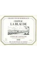 Chateau la Blaude 1990 - Bordeaux - Cotes de Castillon